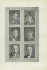 Page 15, 1924 Edition, Franklin High School - Almanac Yearbook (Los Angeles, CA) online yearbook collection