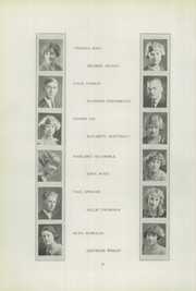 Page 22, 1924 Edition, Franklin High School - Almanac Yearbook (Los Angeles, CA) online yearbook collection