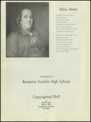 Page 4, 1947 Edition, Franklin High School - Almanac Yearbook (Los Angeles, CA) online yearbook collection
