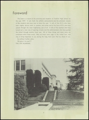 Page 5, 1947 Edition, Franklin High School - Almanac Yearbook (Los Angeles, CA) online yearbook collection