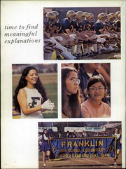 Page 6, 1973 Edition, Franklin High School - Almanac Yearbook (Los Angeles, CA) online yearbook collection