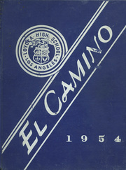 Page 1, 1954 Edition, Loyola High School - El Camino Yearbook (Los Angeles, CA) online yearbook collection