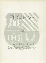 Page 5, 1954 Edition, Loyola High School - El Camino Yearbook (Los Angeles, CA) online yearbook collection