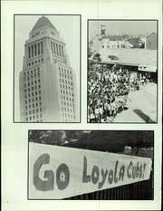 Page 6, 1986 Edition, Loyola High School - El Camino Yearbook (Los Angeles, CA) online yearbook collection
