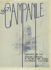 Page 3, 1947 Edition, Belmont High School - Campanile Yearbook (Los Angeles, CA) online yearbook collection