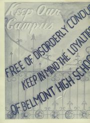 Page 4, 1947 Edition, Belmont High School - Campanile Yearbook (Los Angeles, CA) online yearbook collection