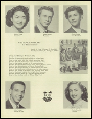 Page 14, 1952 Edition, Belmont High School - Campanile Yearbook (Los Angeles, CA) online yearbook collection