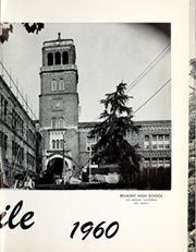 Page 5, 1960 Edition, Belmont High School - Campanile Yearbook (Los Angeles, CA) online yearbook collection