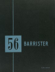 1956 Edition, John Marshall High School - Barrister Yearbook (Los Angeles, CA)