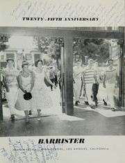 Page 5, 1956 Edition, John Marshall High School - Barrister Yearbook (Los Angeles, CA) online yearbook collection