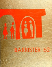 1962 Edition, John Marshall High School - Barrister Yearbook (Los Angeles, CA)