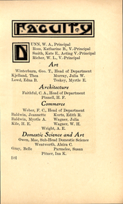 Page 10, 1912 Edition, Polytechnic High School - Polytechnic Student Yearbook (Los Angeles, CA) online yearbook collection