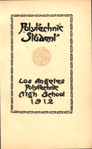 Page 3, 1912 Edition, Polytechnic High School - Polytechnic Student Yearbook (Los Angeles, CA) online yearbook collection