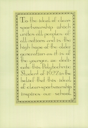 Page 16, 1927 Edition, Polytechnic High School - Polytechnic Student Yearbook (Los Angeles, CA) online yearbook collection