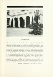 Page 9, 1933 Edition, Polytechnic High School - Polytechnic Student Yearbook (Los Angeles, CA) online yearbook collection
