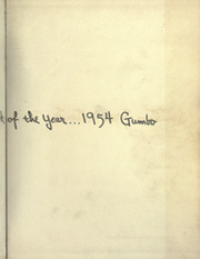 Page 3, 1954 Edition, Louisiana State University - Gumbo Yearbook (Baton Rouge, LA) online yearbook collection