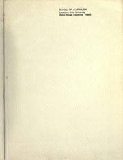 Page 3, 1972 Edition, Louisiana State University - Gumbo Yearbook (Baton Rouge, LA) online yearbook collection