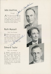 Page 17, 1939 Edition, San Diego High School - Gray Castle Yearbook (San Diego, CA) online yearbook collection