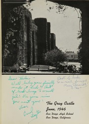Page 5, 1946 Edition, San Diego High School - Gray Castle Yearbook (San Diego, CA) online yearbook collection