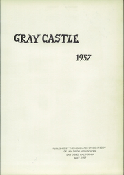 Page 5, 1957 Edition, San Diego High School - Gray Castle Yearbook (San Diego, CA) online yearbook collection