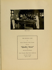 Page 13, 1929 Edition, South Pasadena High School - Copa de Oro Yearbook (South Pasadena, CA) online yearbook collection