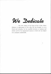 Page 5, 1941 Edition, South Pasadena High School - Copa de Oro Yearbook (South Pasadena, CA) online yearbook collection