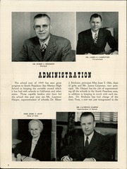 Page 12, 1949 Edition, South Pasadena High School - Copa de Oro Yearbook (South Pasadena, CA) online yearbook collection