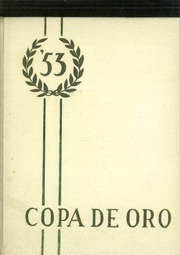 1953 Edition, South Pasadena High School - Copa de Oro Yearbook (South Pasadena, CA)
