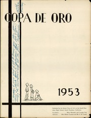 Page 3, 1953 Edition, South Pasadena High School - Copa de Oro Yearbook (South Pasadena, CA) online yearbook collection