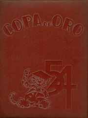 1954 Edition, South Pasadena High School - Copa de Oro Yearbook (South Pasadena, CA)