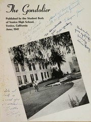 Page 5, 1941 Edition, Venice High School - Gondolier Yearbook (Venice, CA) online yearbook collection