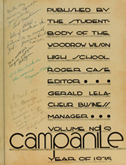 Page 7, 1935 Edition, Woodrow Wilson High School - Campanile Yearbook (Long Beach, CA) online yearbook collection