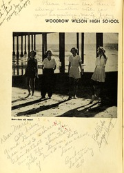 Page 6, 1937 Edition, Woodrow Wilson High School - Campanile Yearbook (Long Beach, CA) online yearbook collection