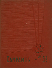 1952 Edition, Woodrow Wilson High School - Campanile Yearbook (Long Beach, CA)