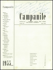Page 5, 1955 Edition, Woodrow Wilson High School - Campanile Yearbook (Long Beach, CA) online yearbook collection