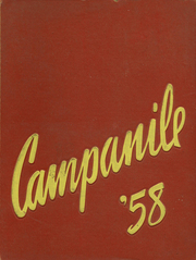 1958 Edition, Woodrow Wilson High School - Campanile Yearbook (Long Beach, CA)