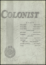 Page 9, 1944 Edition, Anaheim Union High School - Colonist Yearbook (Anaheim, CA) online yearbook collection