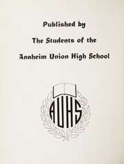 Page 6, 1956 Edition, Anaheim Union High School - Colonist Yearbook (Anaheim, CA) online yearbook collection