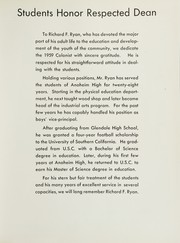 Page 11, 1959 Edition, Anaheim Union High School - Colonist Yearbook (Anaheim, CA) online yearbook collection