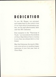 Page 13, 1941 Edition, Chico High School - Caduceus Yearbook (Chico, CA) online yearbook collection