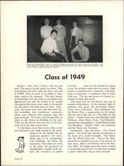 Page 16, 1949 Edition, Chico High School - Caduceus Yearbook (Chico, CA) online yearbook collection