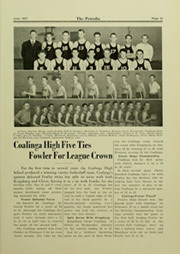 Page 77, 1937 Edition, Coalinga High School - Petrolia Yearbook (Coalinga, CA) online yearbook collection