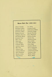 Page 8, 1921 Edition, Fullerton Union High School - Pleiades Yearbook (Fullerton, CA) online yearbook collection