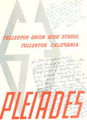 Page 5, 1963 Edition, Fullerton Union High School - Pleiades Yearbook (Fullerton, CA) online yearbook collection