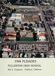 Page 5, 1984 Edition, Fullerton Union High School - Pleiades Yearbook (Fullerton, CA) online yearbook collection