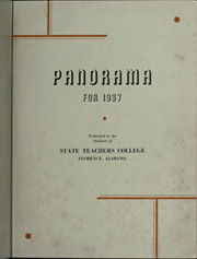 Page 5, 1937 Edition, University of North Alabama - Diorama Yearbook (Florence, AL) online yearbook collection