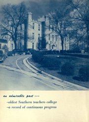Page 10, 1953 Edition, University of North Alabama - Diorama Yearbook (Florence, AL) online yearbook collection