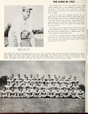 Page 244, 1958 Edition, University of North Alabama - Diorama Yearbook (Florence, AL) online yearbook collection