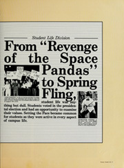 Page 15, 1985 Edition, University of North Alabama - Diorama Yearbook (Florence, AL) online yearbook collection