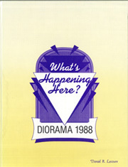 Page 1, 1988 Edition, University of North Alabama - Diorama Yearbook (Florence, AL) online yearbook collection